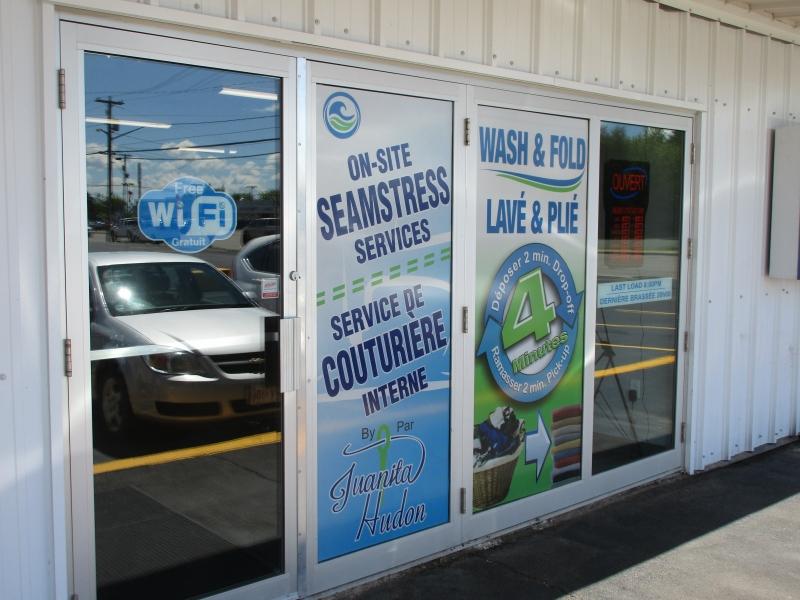North Shore Laundry (Main entrance)