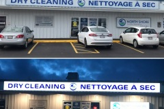 New Dry Cleaning sign