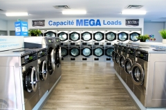 Our beautiful, modern Coin Op Laundry