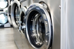 Large, efficient stainless Maytag washers