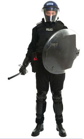 Police ballistics gear